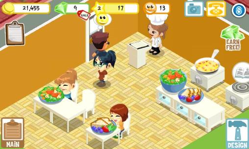 Economy games Restaurant story: Earth day in English