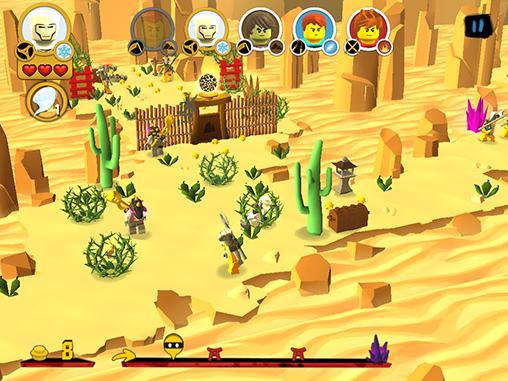 アンドロイド用ゲーム レゴ・ニンジャゴ: ヴ―・クルー のスクリーンショット