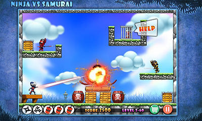 Ninja vs Samurais für Android