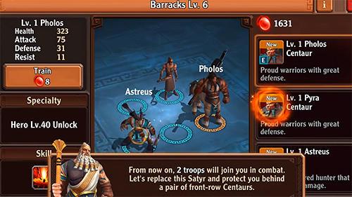 Legacy of Zeus captura de tela 1