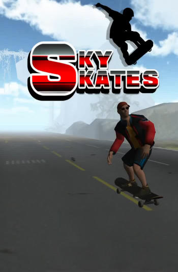 Sky skates 3D screenshot 1