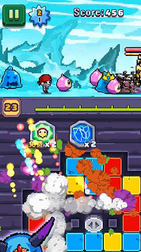 Jogos de arcade Devil vs warrior: Fight for freedompara smartphone