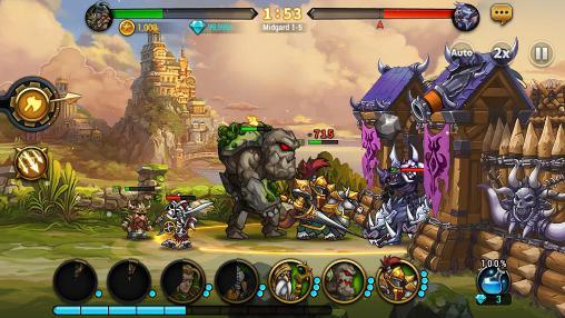 RPG Seven guardians für das Smartphone
