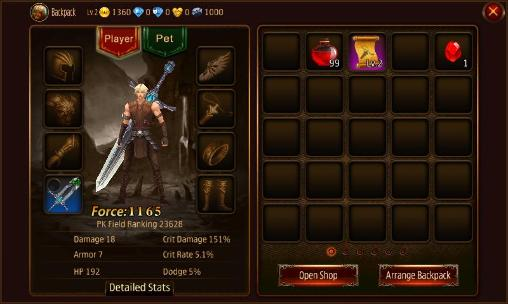 MMORPG games World of darkness in English