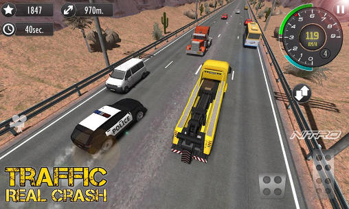 Real racer crash traffic 3D para Android