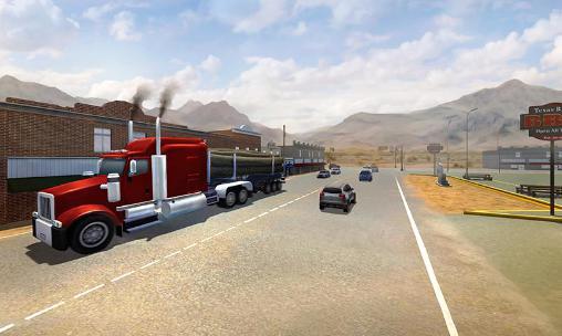 Jogos de caminhoneiros USA 3D truck simulator 2016 em portugues