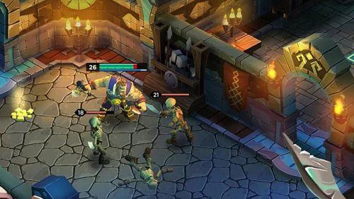 RPG: Lade Legenden des Dungeons für dein Handy herunter