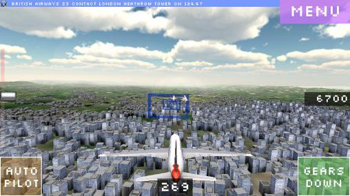 Flight world simulator pour Android