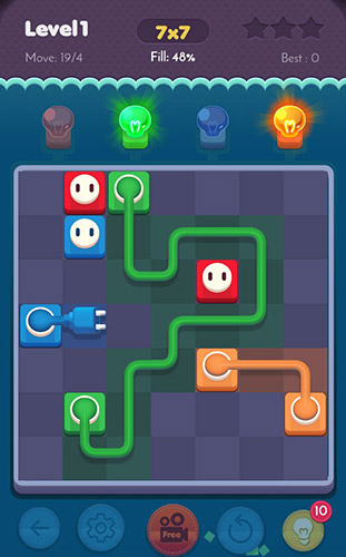 Connect puzzle: Spots connection. Brain puzzle для Android