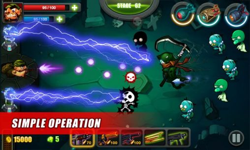 Arcade Zombie commando 2014 für das Smartphone