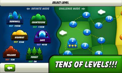 Juegos de arcade Monsters Climb Race: hill race para teléfono inteligente