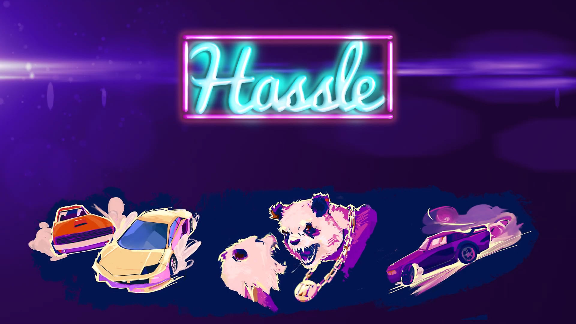 Hassle 1977 - online top down action game скриншот 1