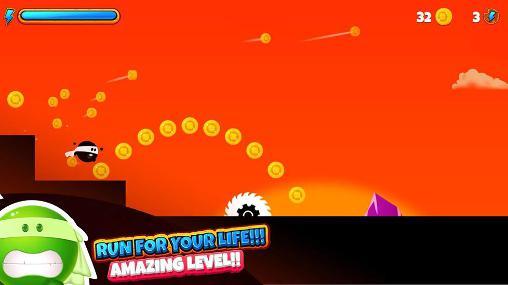 Arcade Boru! The running ninja für das Smartphone