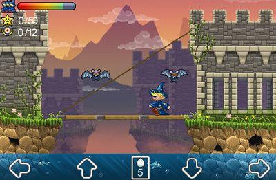 Screenshot Zauberer Presto und die Vampir-Höhle auf dem iPhone
