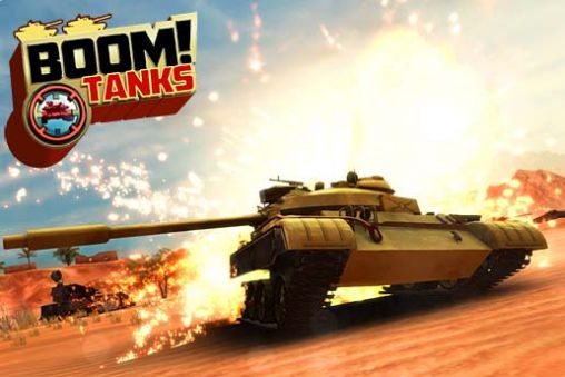 Boom! Tanks captura de pantalla 1