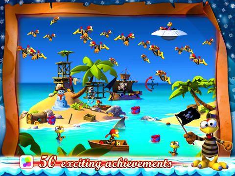 Аркади: завантажити Божевільні Кури: Пірати - Різдвяний випуск на телефон