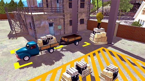 Trucker adventures: City delivery captura de tela 1