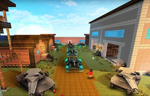 Pixel Tank craft blitz: World of panzer war machines en français