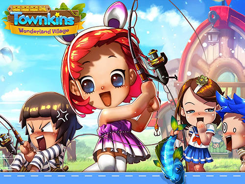 Townkins: Wonderland village screenshot 1