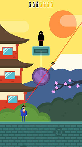 Mr Bullet: Spy puzzles screenshot 1