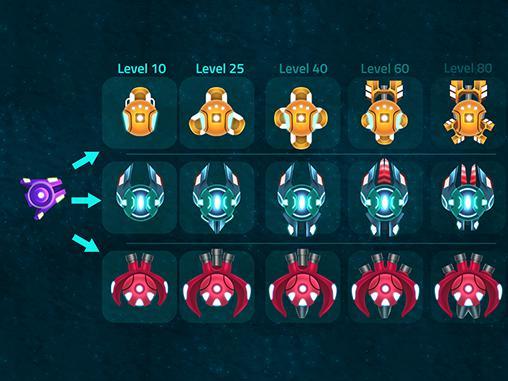 Actionspiele Ion space für das Smartphone