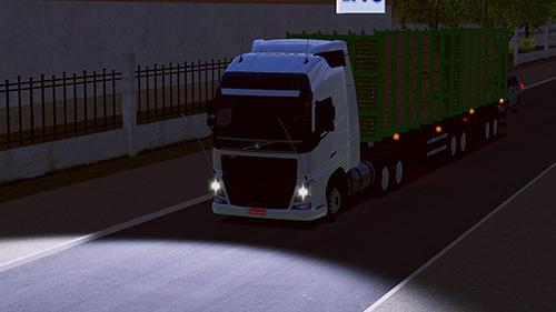 Simulation World truck driving simulator für das Smartphone