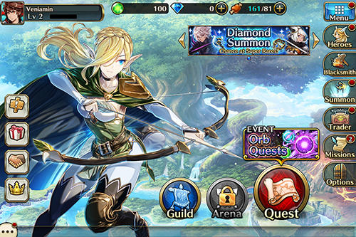 Strategy RPG Valkyrie connect in English