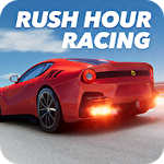 Rush hour racing icon