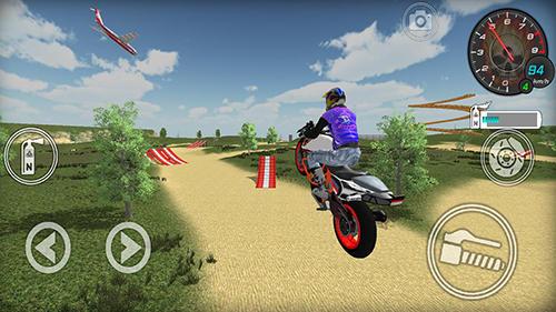 Simulator-Spiele Extreme bike simulator für das Smartphone