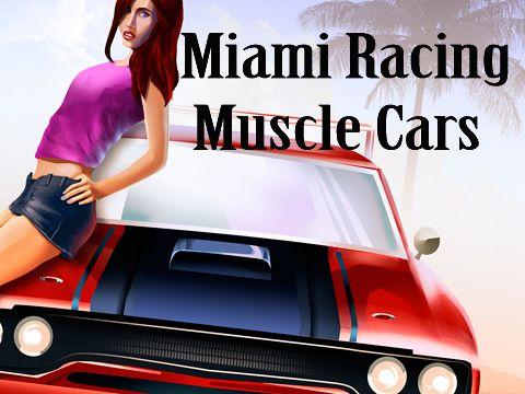 логотип Гонки Майами: Мускул кары