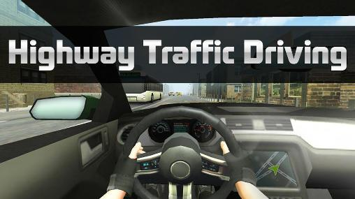 Highway traffic driving скриншот 1