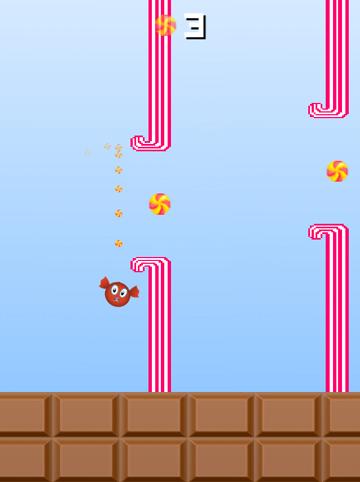 Arcade: Lade Flappy Candy auf dein Handy herunter