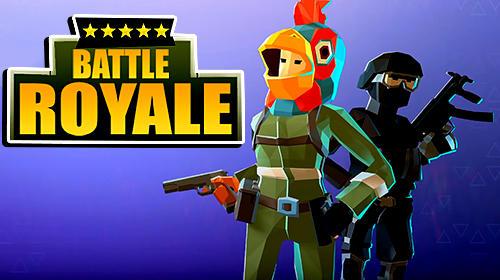 Battle royale FPS survival icon
