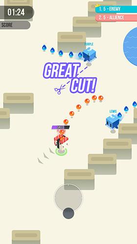 Arcade Cut.io: Keep the tail für das Smartphone