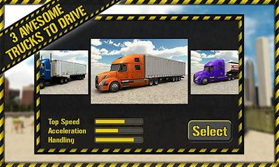 Truck-Simulatoren Trucker Parking 3D auf Deutsch