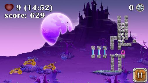 Angry Birds ähnelnde Spiele Siege wars auf Deutsch