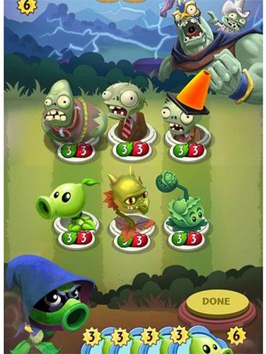 Скриншот Растения против зомби: Герои на Айфон