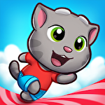 Talking Tom candy run іконка