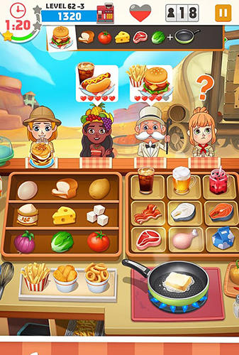 Cooking master fever for Android