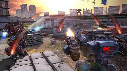 Robot warfare: Battle mechs für Android