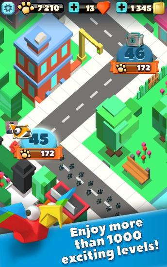 Wild city rush for Android