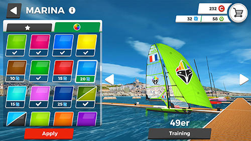 Virtual regatta inshore screenshot 1