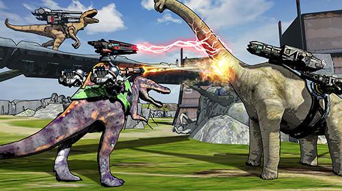 Jogos de tiro Dino squad em portugues