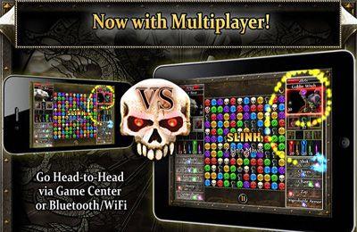 Screenshot Puzzle Quest 2 auf dem iPhone
