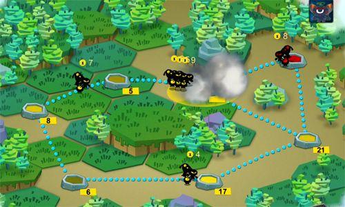 Strategy games Shadow war in English