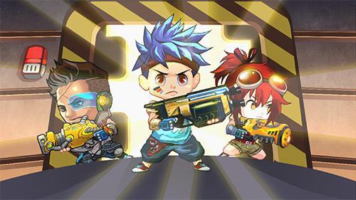 Arcade-Spiele Metal soldiers: Shooting game für das Smartphone