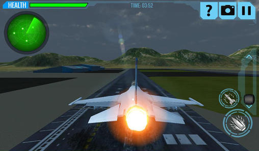 F18 army fighter aircraft 3D: Jet attack for Android