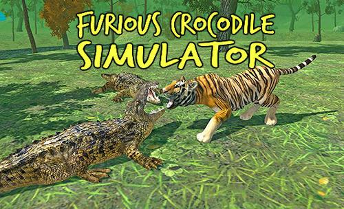 Furious crocodile simulator Symbol