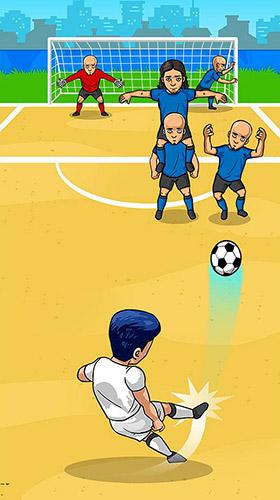 Sportspiele Freekick maniac: Penalty shootout soccer game 2018 für das Smartphone