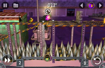 iPhone用ゲーム ノンフライング兵士 のスクリーンショット